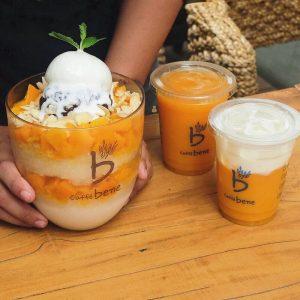 image mango bingsu topping es krim