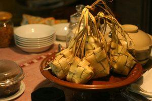 gambar menu masakan lebaran ketupat