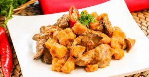 gambar menu masakan lebaran sambel goreng ati ampela
