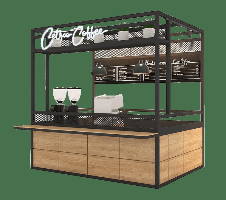 booth paket franchise minuman kopi