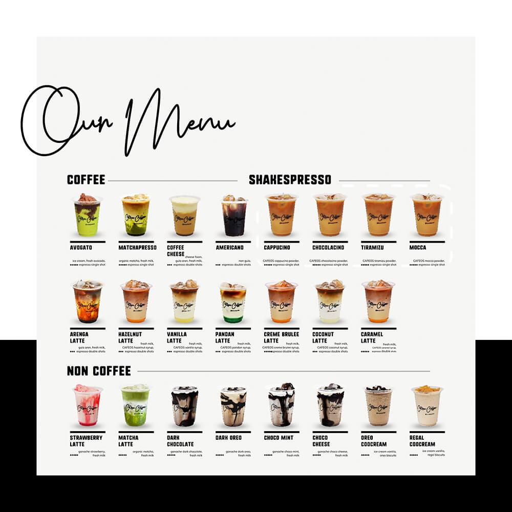 varian menu kopi susu cetroo