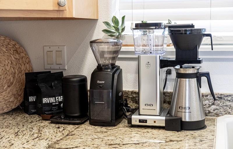 cara membuat kopi drip coffee dengan mesin