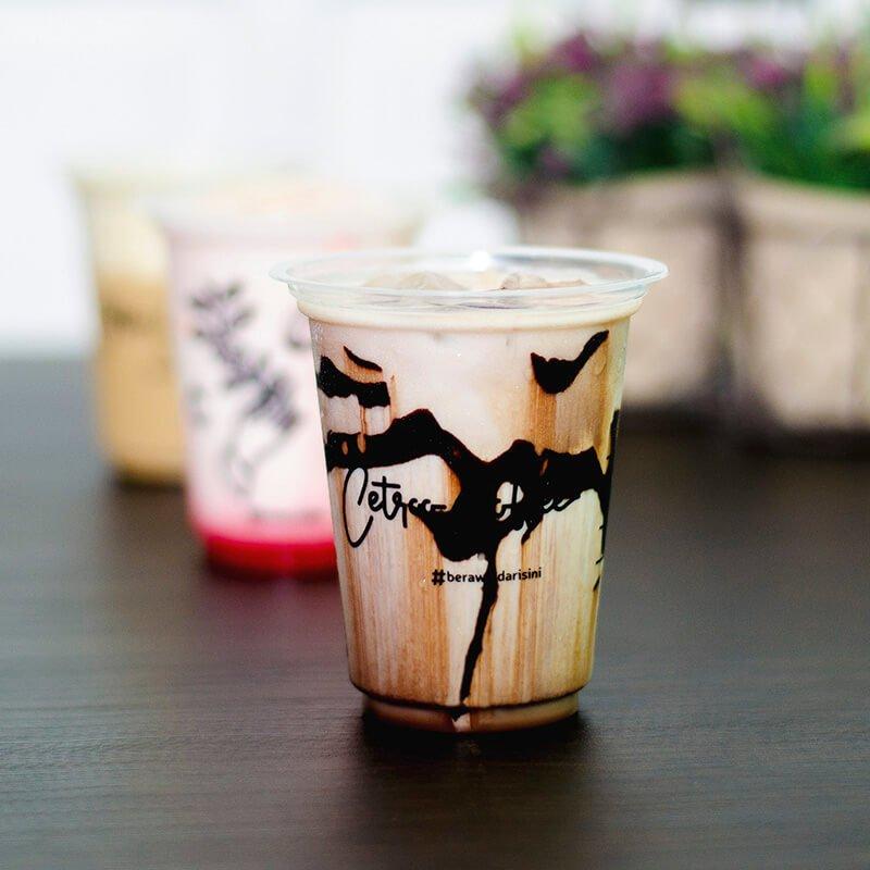 kopi susu rasa Dark Chocolate