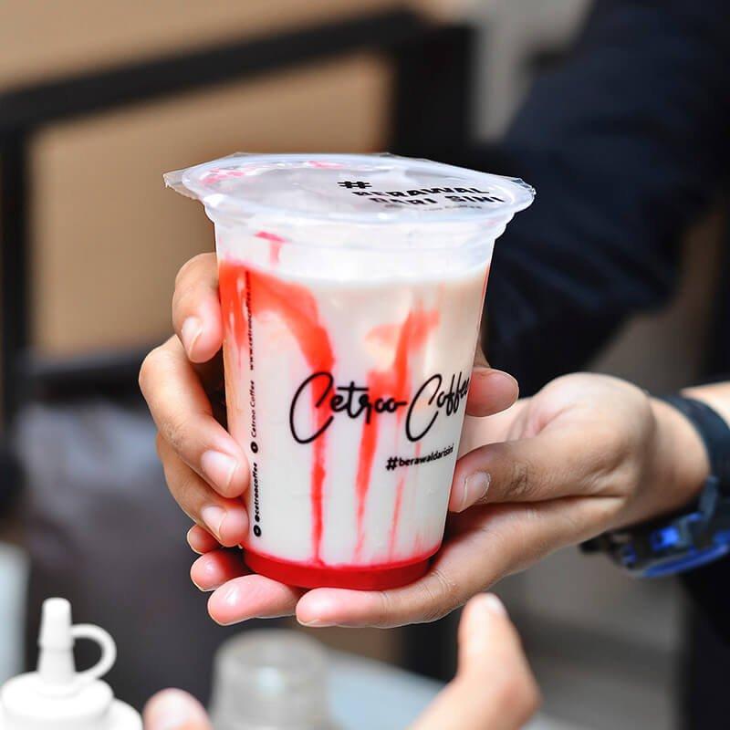 Varian Strawberry Latte