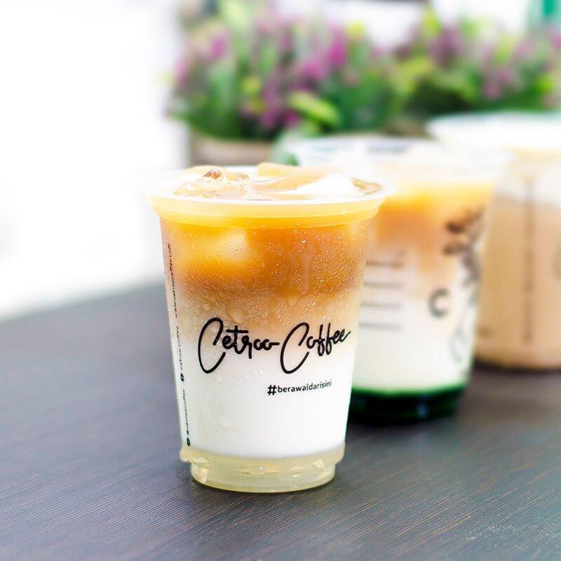 Varian Vanilla Latte dari Cetroo