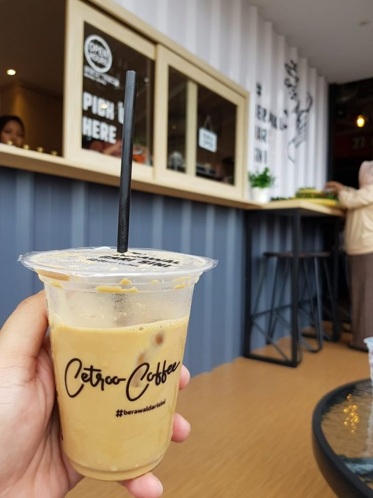 grand opening kedai cetroo coffee