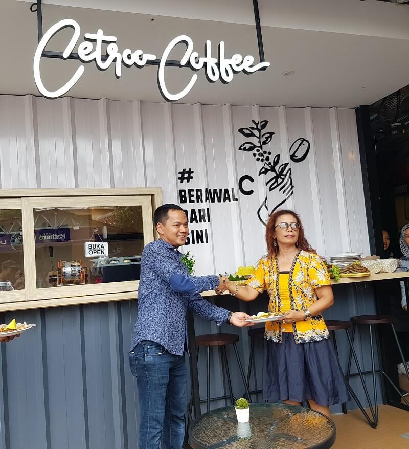 grand opening kedai kopi cetroo coffee