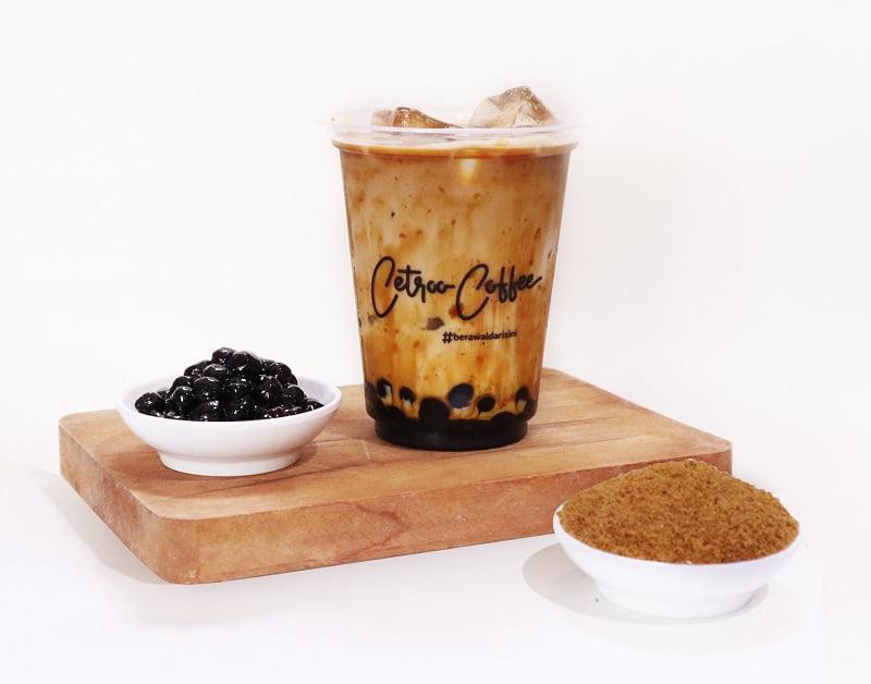 menu boba coffee dari cetroo