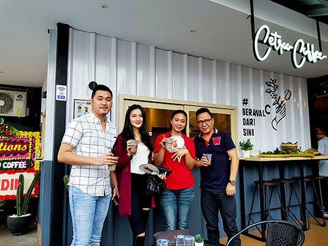 testimoni pelanggan cetroo coffee