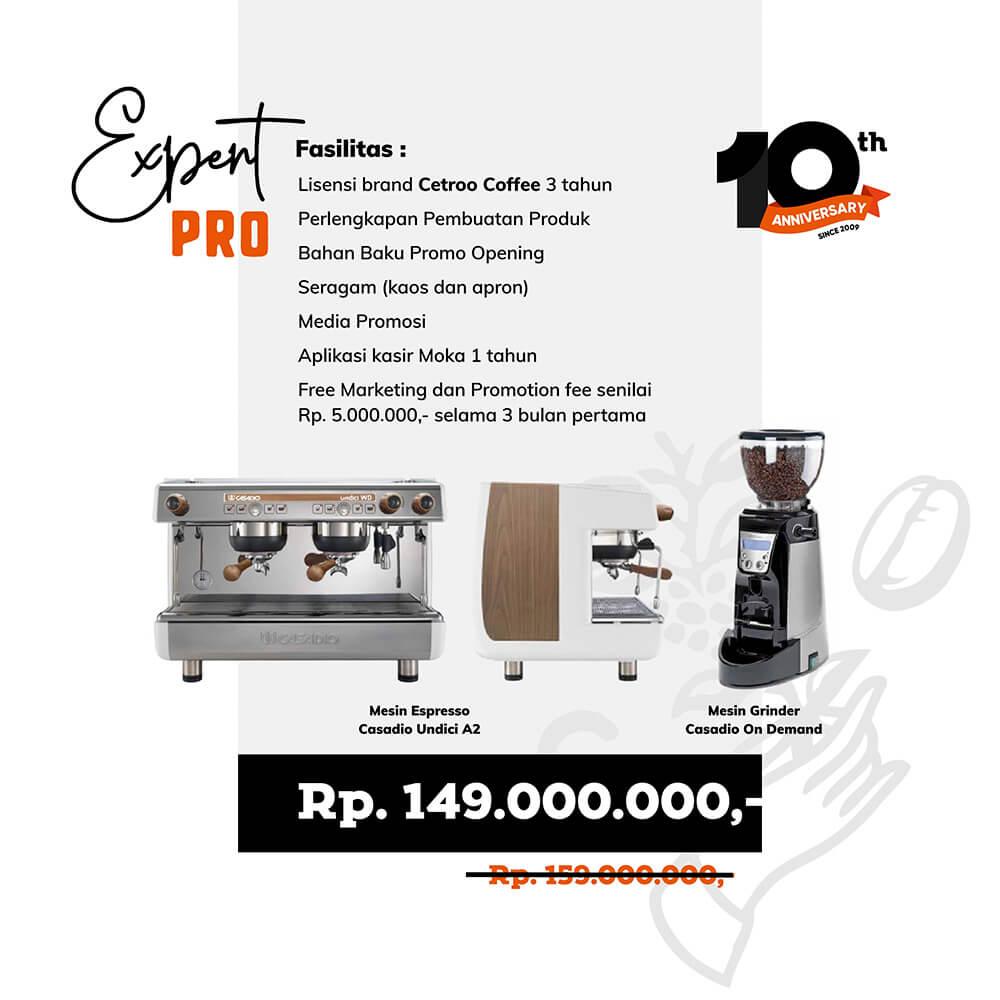 harga paket franchise kopi dari cetroo