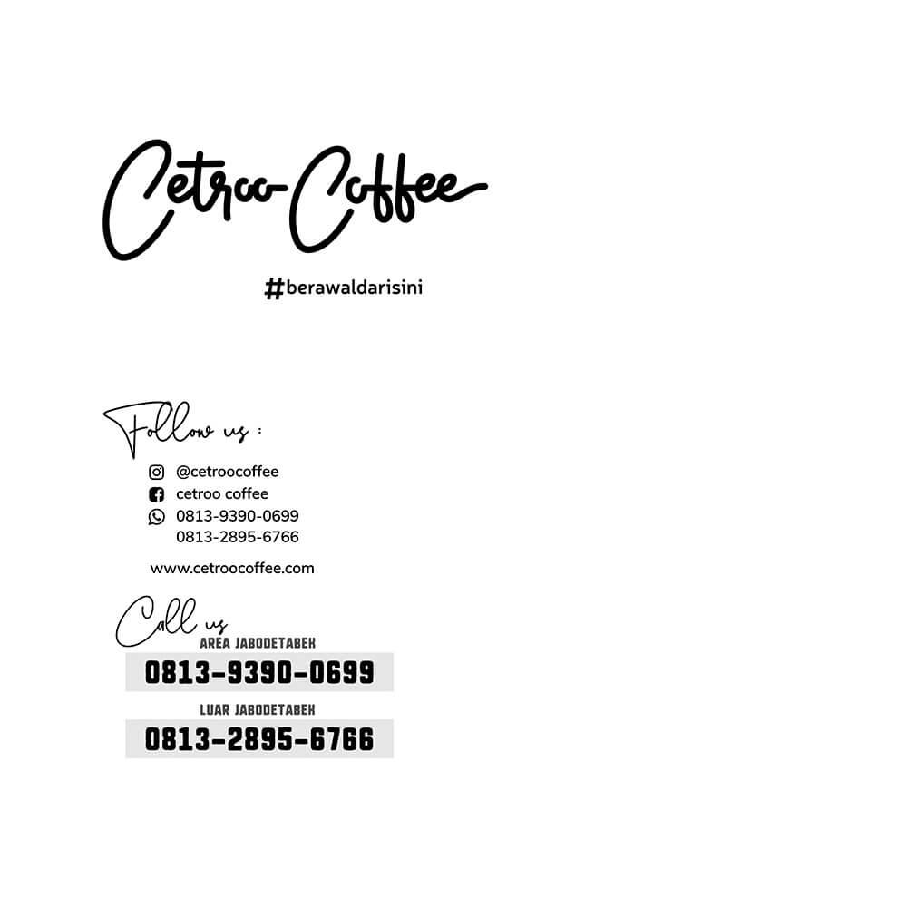 kontak cetroo coffee