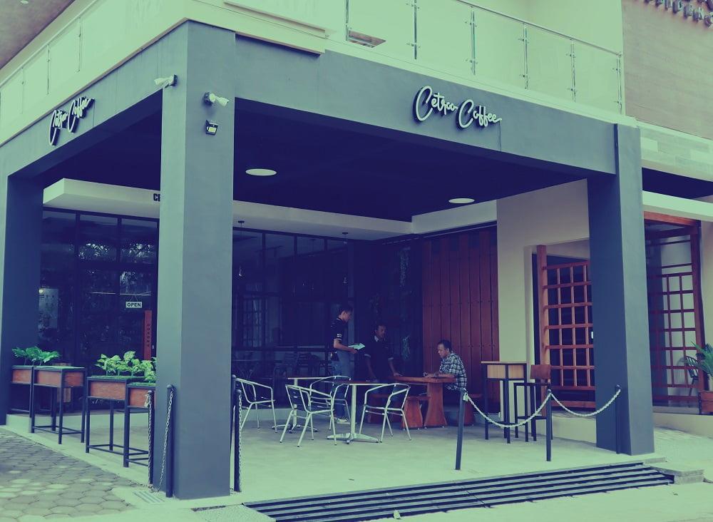 kedai kopi cetroo coffee tembalang