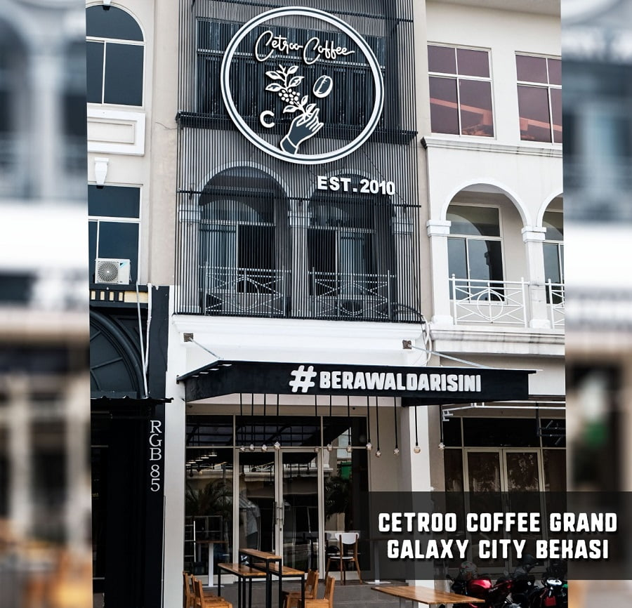 Halo Bekasi, Cetroo Coffee Buka Outlet Kopi di Grand Galaxy City