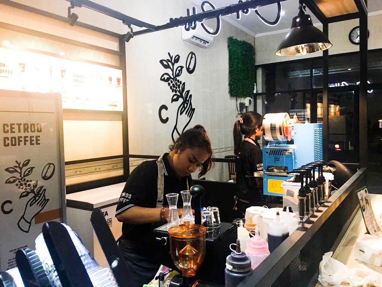 Cetroo, Kopi Susu Kekinian Ada di Denpasar