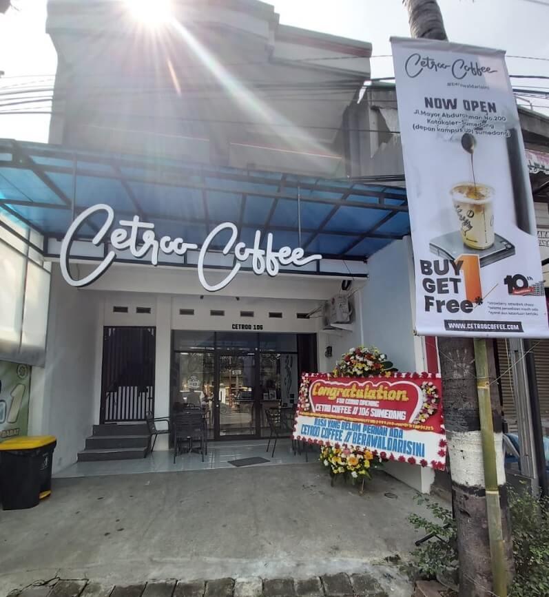 Cetroo Coffee Resmikan Kedai Kopi Baru di Sumedang