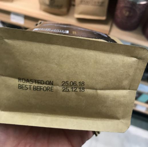 tanggal kopi dipanggang