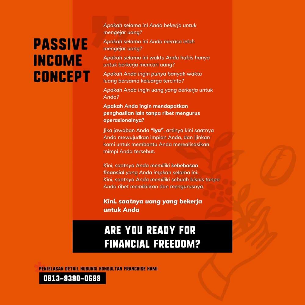 passive income dari investasi franchise