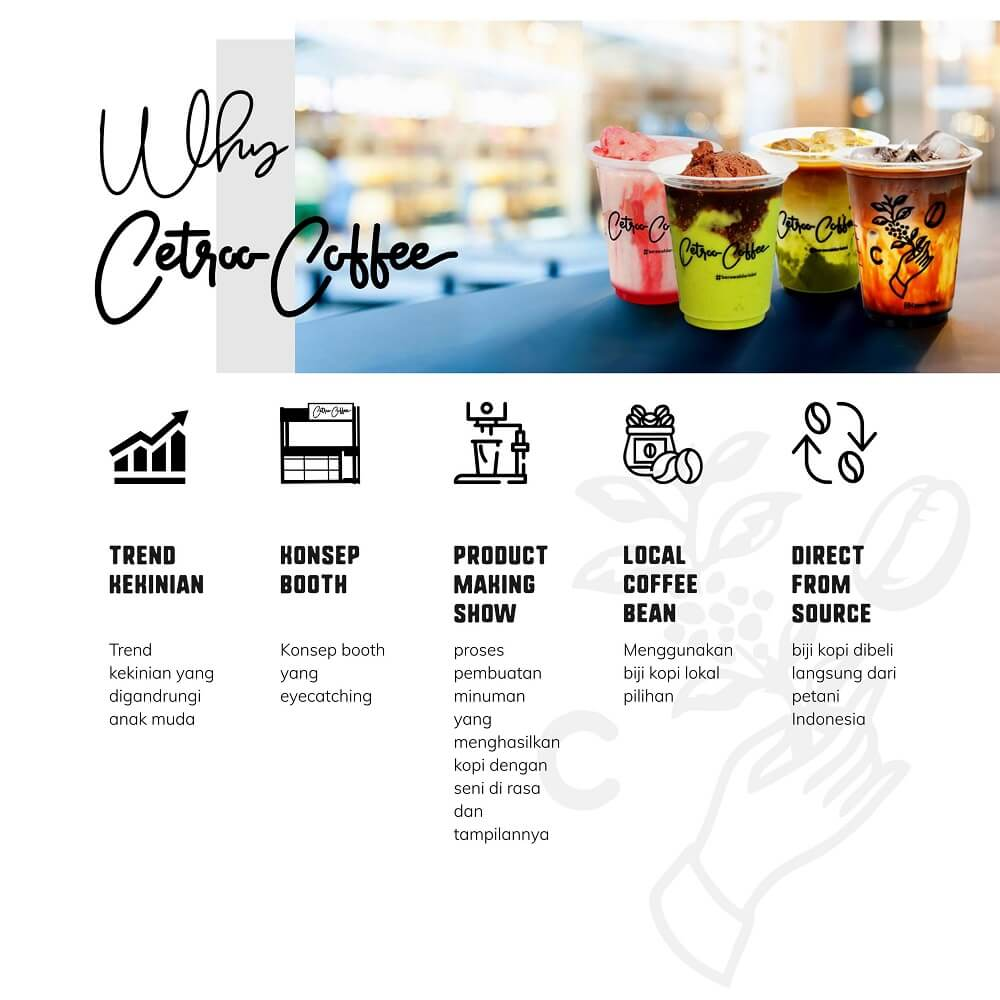 keunggulan franchise cetroo coffee