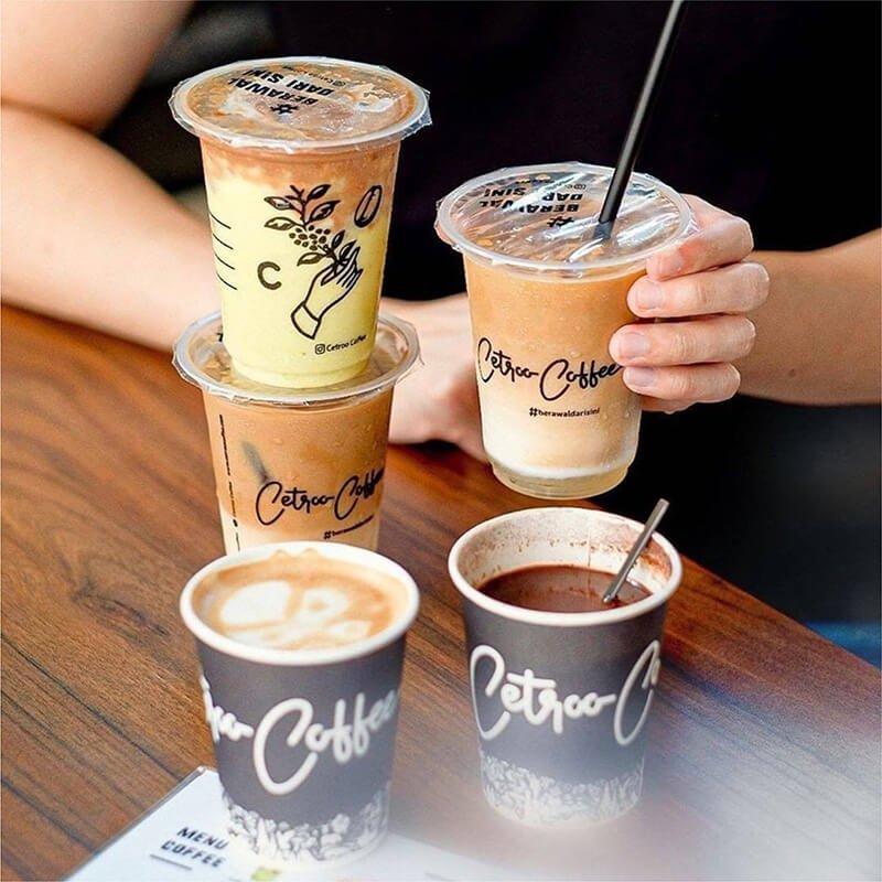 menu cetroo coffee