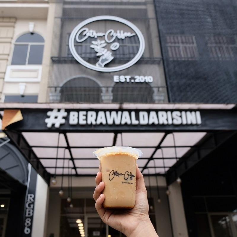 Info Lokasi Cetroo Coffee Tempat Nongkrong Asik Buat Minum Kopi Cokelat di Bekasi Jawa Barat