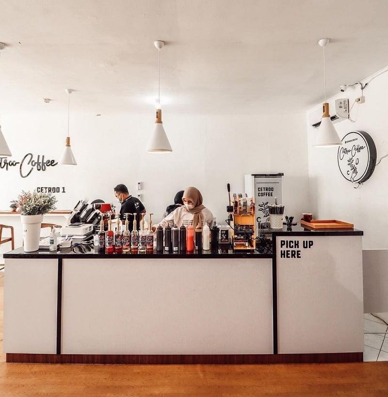 desain outlet cafe modern minimalis