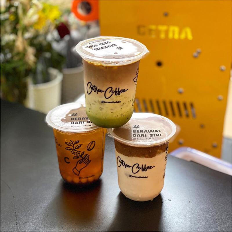 Harga Paket Murah Franchise Minuman Kekinian Cetroo Coffee Kopi Susu