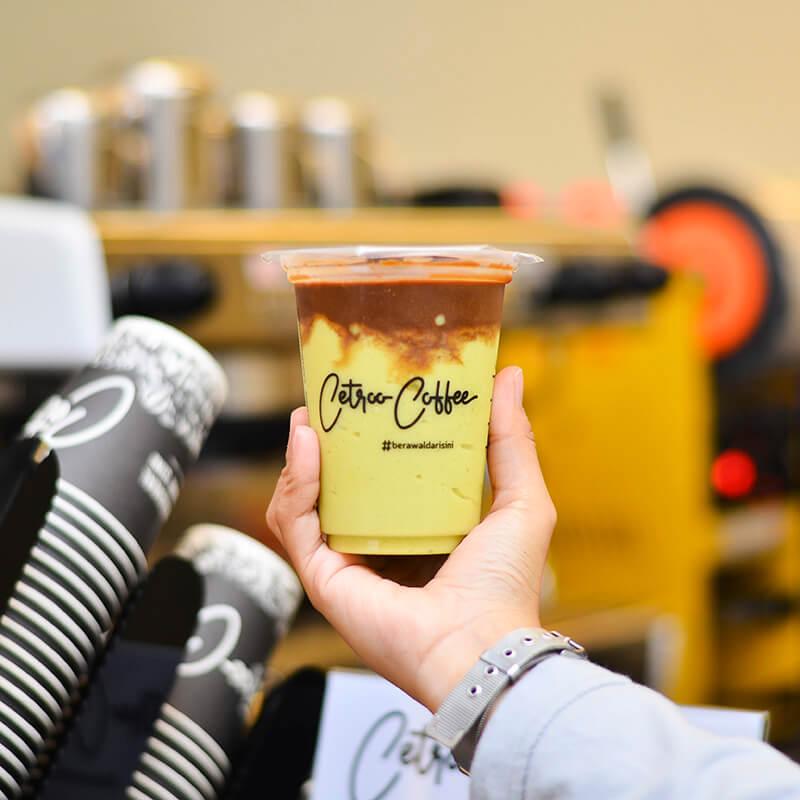 Jual Minuman Kopi Kekinian Franchise Waralaba Cetroo Coffee