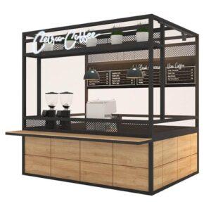 Paket Usaha Murah Waralaba Franchise Minuman Kopi Kekinian Janji Jiwa Soe Kenangan Cetroo Coffee Booth