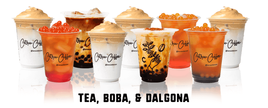 Paket Usaha Murah Waralaba Franchise Minuman Kopi Kekinian Janji Jiwa Soe Kenangan Cetroo Coffee Dalgona Booba Series