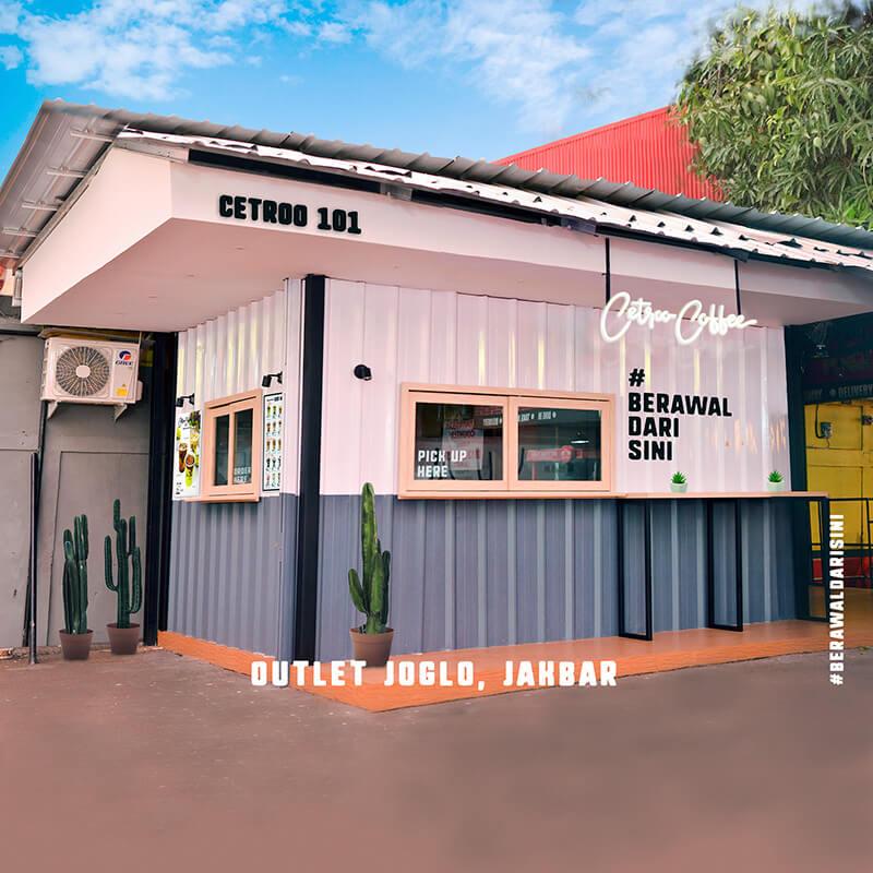 Paket Usaha Murah Waralaba Franchise Minuman Kopi Kekinian Janji Jiwa Soe Kenangan Cetroo Coffee Konsep Outdoor