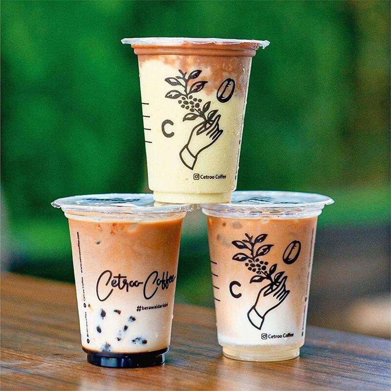 Waralaba Minuman Kekinian Kopi Coklat Tea Boba Dalgona Ice Cream Thai Tea